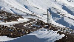 Сняг покри пясъците на Сахара в Алжир и Мароко