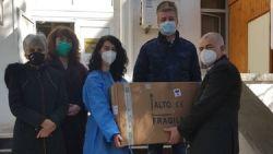 Социалисти с дарение за болница в Стара Загора
