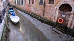 Каналите във Венеция пресъхнаха /ВИДЕО/