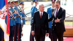 Ердоган на посещение в Сърбия