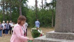 Корнелия Нинова: Нека никога не забравяме зверствата на фашизма