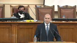 Президентът Румен Радев: Ако НС не успее да излъчи правителство, ще назнача служебно /ВИДЕО/