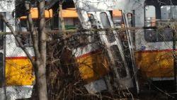 Един загинал при верижна катастрофа между три трамвая в София