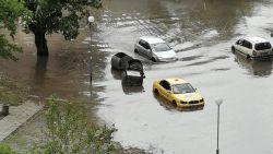 Порой в Пловдив наводни прясно ремонтирани улици и подлез