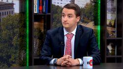 """Народният представител Явор Божанков в студиото на """"България се събужда"""""""