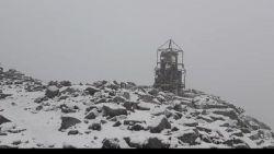Сняг на Мусала през юли