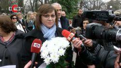 Корнелия Нинова в Стара Загора: За свободата се воюва всеки ден