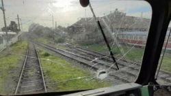 Нападнаха с камъни влак край Нова Загора