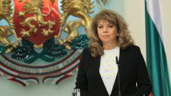 Вицепрезидентът Йотова: ГЕРБ се страхува най-много от служебно правителство