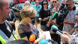"""Служебната министърка откри незаконно строителство по магистрала """"Хемус"""""""