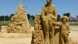 Откриват фестивала на пясъчните скулптури