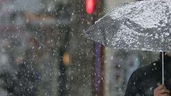 Жълт код за дъжд и сняг в почти цялата страна