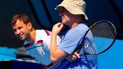Григор Димитров си пожела дълголетието на Федерер