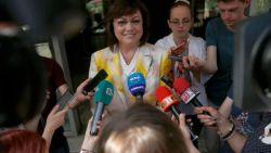 Лидерът на БСП Корнелия Нинова осъди вътрешнопартийното напрежение в Левицата