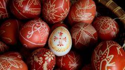 Вековната традиция на писаните яйца