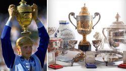 Търгът за трофеите на Бекер надхвърли 680 000 паунда