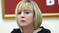 Мая Манолова се отчете пред парламента