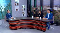 """Елеонора Петрова и Габриел Вълков, членове на Националния съвет на Младежкото обединение на БСП в """"България се събужда"""""""