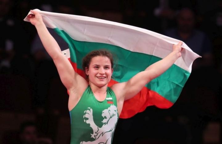 Биляна Дудова със световна титла по борба