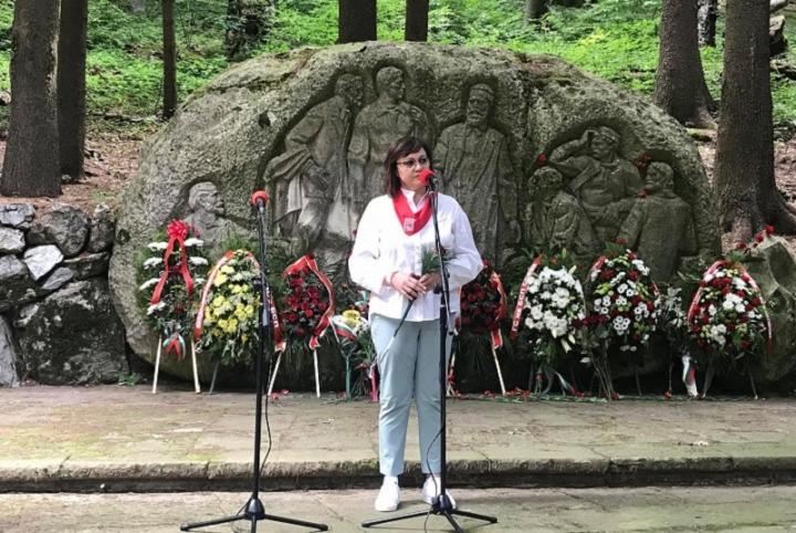 Корнелия Нинова: Бузлуджа е нашата клетва пред България