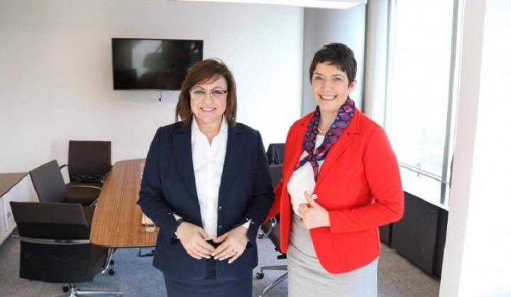 Зам.-председател на Европейския парламент поздрави Корнелия Нинова за категоричната й победа