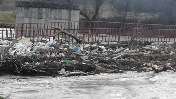 Плаващо сметище се появи и в река Струма