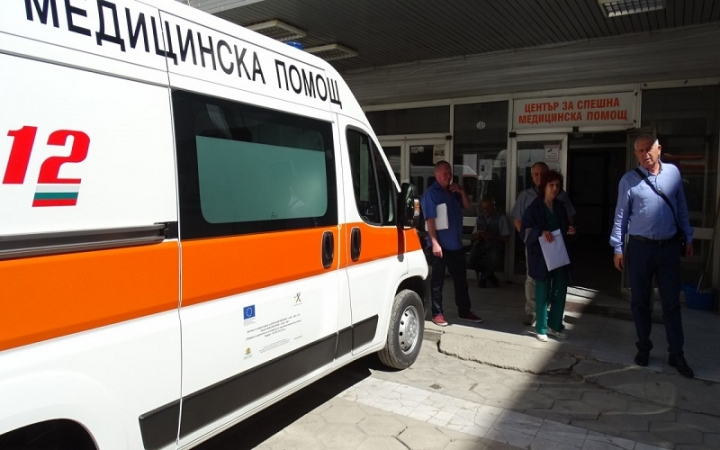 Изоставено бебе открито в София
