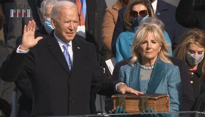 Джо Байдън положи клетва като 46-я президент на САЩ