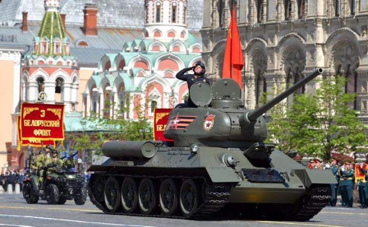 Парадът на Победата на Червения площад през 2020 година - приемственост с Парада на Победата от 24 юни 1945 г.