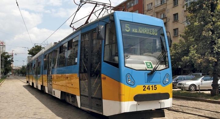 Ремонтът на трамвайна линия №5 скочи над 40 милиона лева