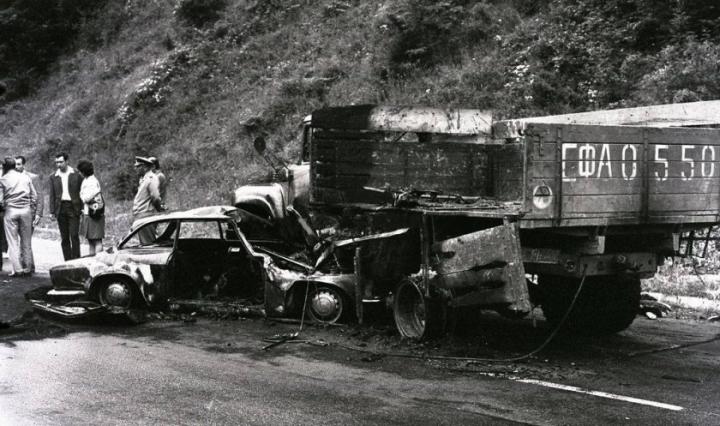На 30 юни 1971 г. в жестока катастрофа загиват футболните легенди Гунди и Котков