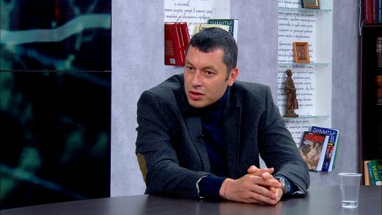 """""""Лява политика"""" с Александър Симов (21.04.2020), гост: СТЕФАН БУРДЖЕВ – ДЕПУТАТ ОТ БСП"""