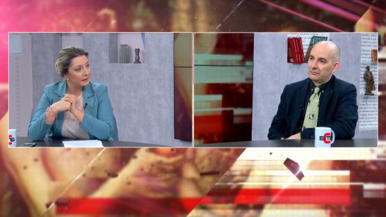 Антидот с Юлия Ал-Хаким (12.03.2020), гост: ПЕТЪР ВОЛГИН - ЖУРНАЛИСТ