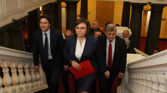 """БСП внесе четвъртия си вот на недоверие към кабинета """"Борисов"""" 3"""