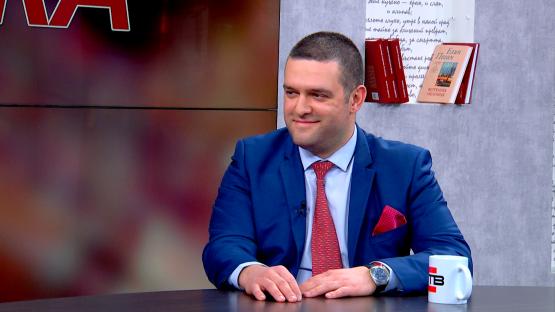 """""""Лява политика"""" с Александър Симов (10.03.2020), гост: Стефан Кръстев - лидер на БСП-Перник и заместник-кмет"""