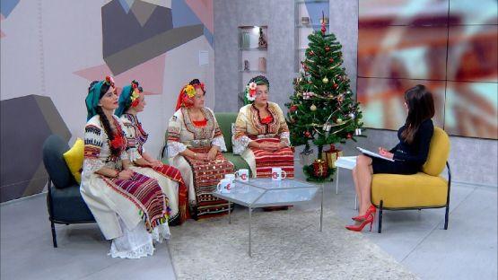 """Следобед с БСТВ (10.12.2019), гости: Квартет """"Славей"""""""