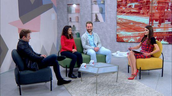 Следобед с БСТВ (21.11.2019), гости: Таня Мирчева, писател, Светлин Къров, актьор и Мартин Асенов, режисьор