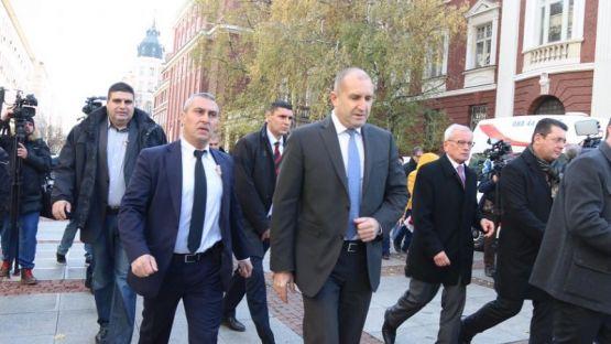 Румен Радев: За мен Стефан Данаилов беше човешкото лице на българската политика