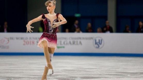 Александра Фейгин - изкуство и болка на ледената пързалка