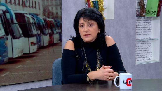 """""""Актуално от деня"""" с Нора Стоичкова (13.12.2019), гост: Магдалена Милтенова, председател на Конфедерацията на автобусните превозвачи"""