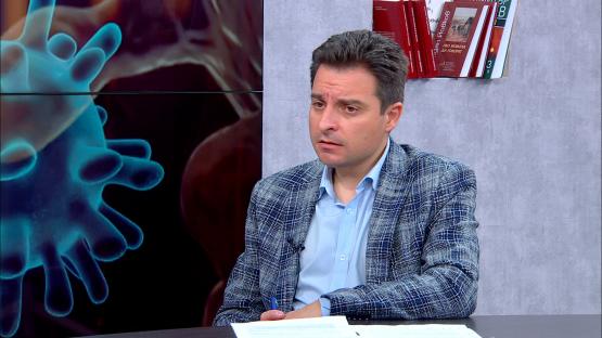 """""""Лява политика"""" с Александър Симов (31.03.2020), гост: Димитър Данчев, секретар на ПГ на БСП"""