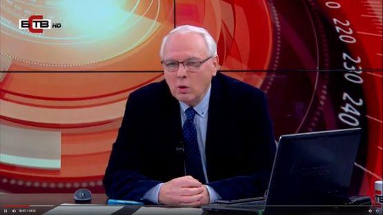 """""""Актуално от деня"""" с Велизар Енчев (19.12.2019), гост: СТАНКА ТАЧЕВА - икономист"""