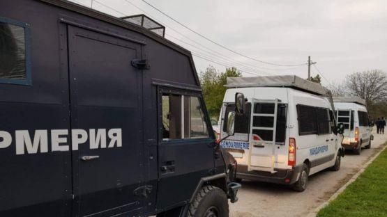 Горна Оряховица под полицейска блокада