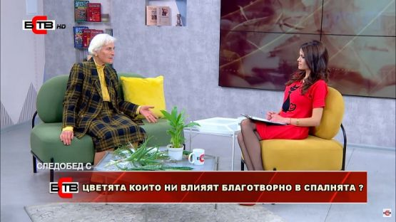 Следобед с БСТВ (15-11-2019), гост: Анка Дончева, агроном