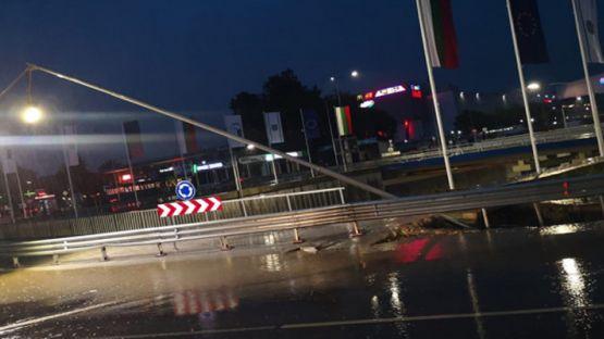 Кръстовище във Варна пропадна след ремонт за над 115 млн. лв.