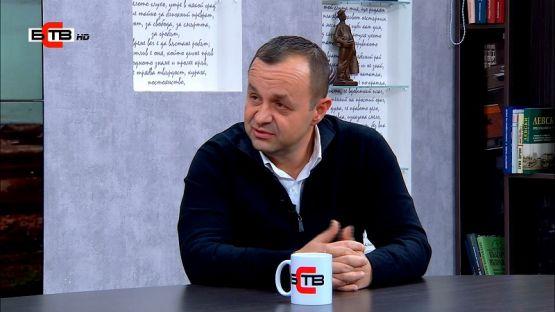 """""""Лява политика"""" с Александър Симов (21.1.2020), Гост: Любомир Бонев – депутат от БСП"""