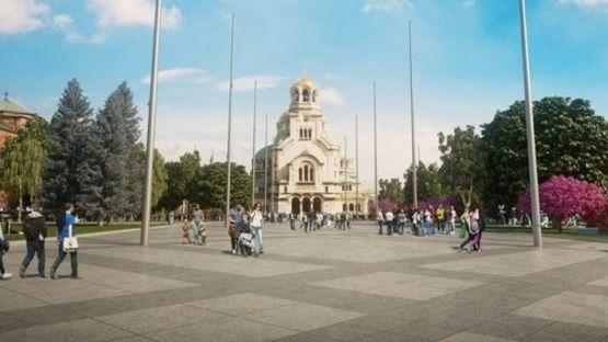 """Паважът към площад """"Св. Ал. Невски"""" ще бъде премахнат"""