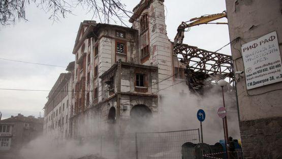 В Пловдив се разрушава паметник на културата